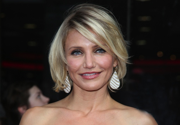 Cameron Diaz and Leonardo made appearances at the Tag Heuer benefit to raise money for charity.