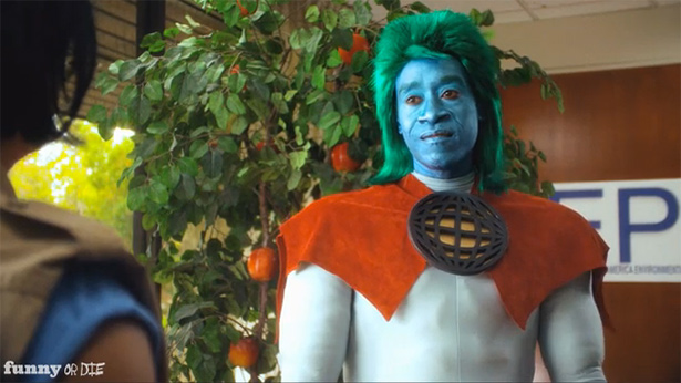 Captain Planet Don Cheadle