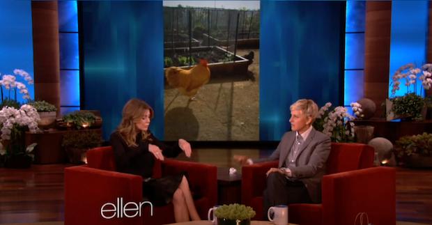 Vegan Ellen DeGeneres admits that she eats eggs.