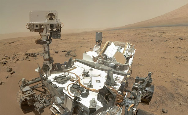 mars rover organic compounds
