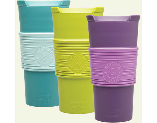 The Aladdin To-Go Cup is resuable and eco-friendly
