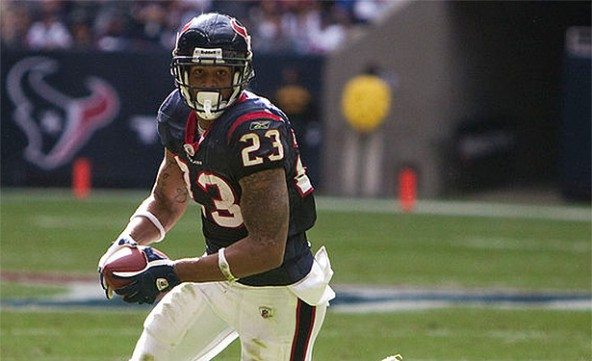 Arian Foster's mostly vegan diet helped him score big this season.