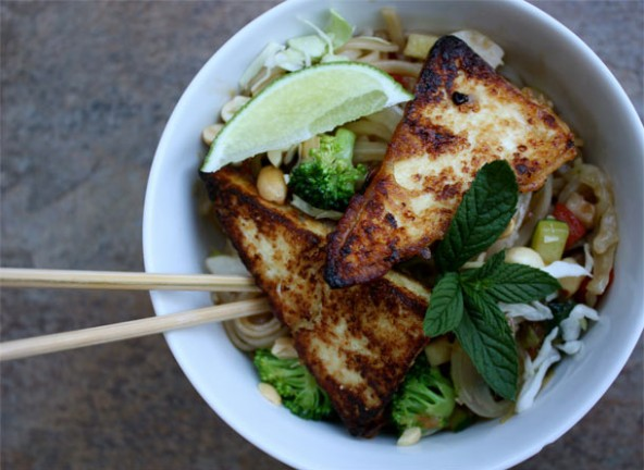 asian tofu noodles recipe