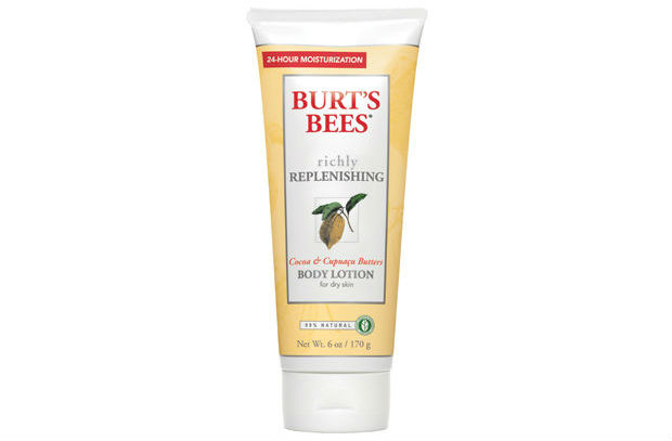 Burt's Bees all-natural lotion is great for winter