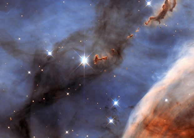 hubble image of carina nebula