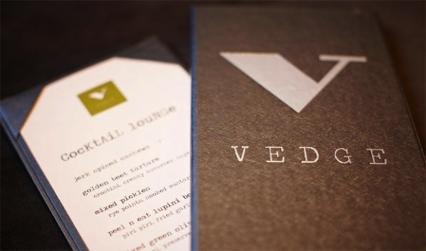 Philadelphia restaurant VEDGE won a restaurant of the year award.