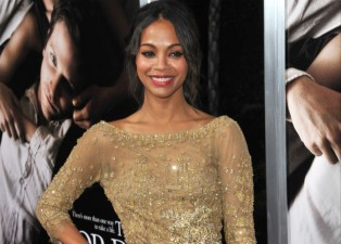 Zoe Saldana shares dog adoption on Twitter