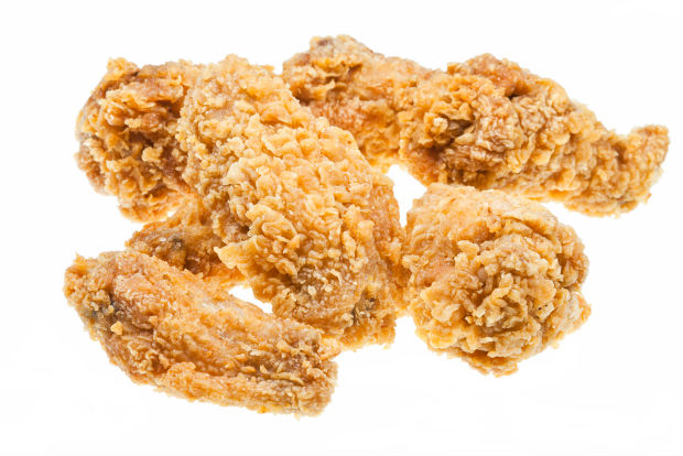 An unsighly organ was found inside a piece of KFC chicken by 19-year-old student