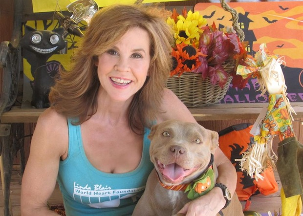 Linda Blair is so passionate about pet rescue that she formed her own organization, the Linda Blair Worldheart Foundation.