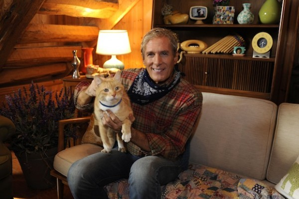 Michael Bolton Purina Funny or Die video shoot