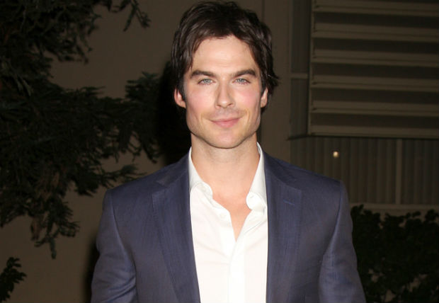 Ian Somerhalder giving away personal copy of 'Fifty Shades of Gray' if people donate to his foundation