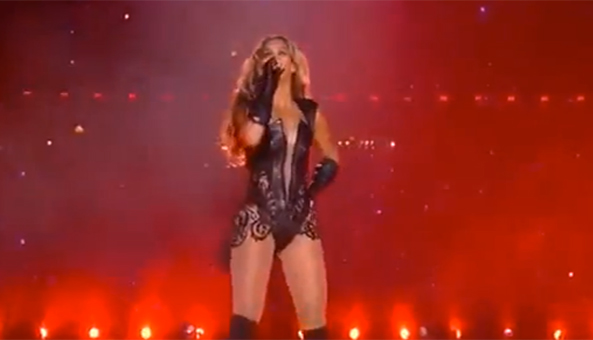 beyonce outfit super bowl