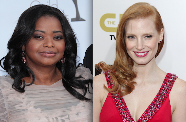 jessica chastain octavia spencer