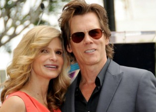 Kyra Sedgwick and Kevin Bacon celebrate Valetine's Day with vegan lunch at Peacefood Cafe