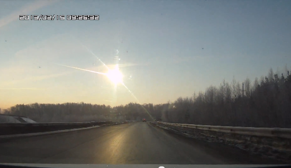 russian meteor crash