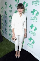 Sophia Bush showcases H&M's Conscious line at Global Green's Pre-Oscar party