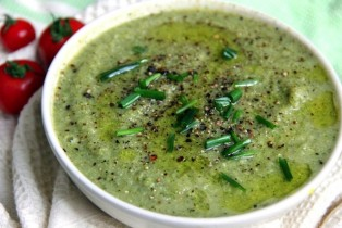 vegan cream of brocoli soup