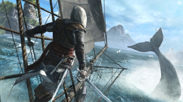 PETA says Assassin's Creed 4 glorifies whaling