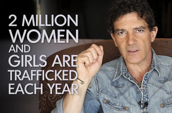 antonio banderas international women's day