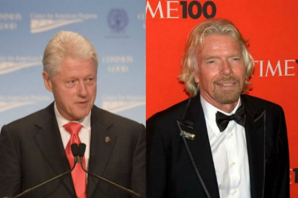 Former President Bill Clinton and Virgin Unite founder Richard Branson join forces in launching the Haiti Forest Initiative