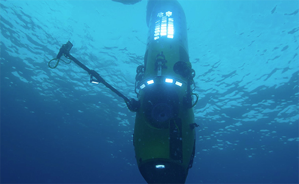 deepsea challenger submarine