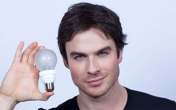 ian somerhalder cree lightbulb