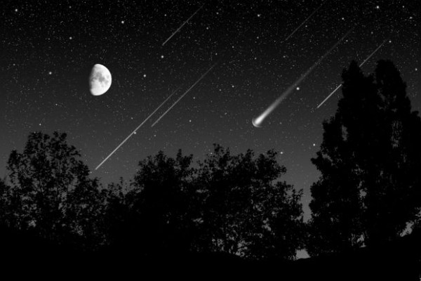The annual Lyrid meteor shower will occur on Earth Day 2013