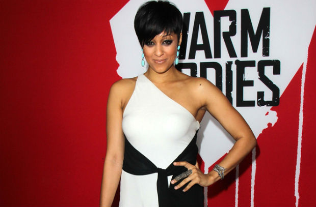 Tia Mowry talks vegan lifestyle and its difficulties with OK! Magazine