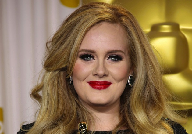 Adele uses eco-friendly thrift furniture to decorate her home.