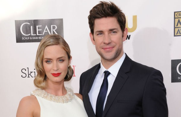 Emily Blunt and John Krasinski Wear Green Fashion at Met Gala