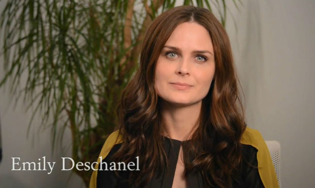 Emily Deschanel and PETA ask others to ditch dairy and embrace a vegan lifestyle