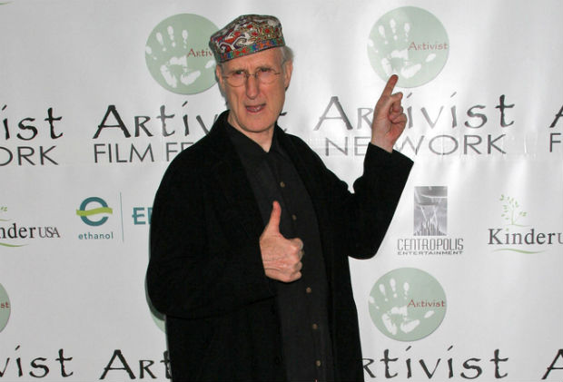 James Cromwell highly protests Keystone XL oil pipeline
