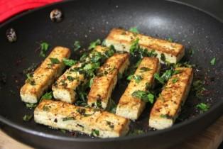 mint tofu
