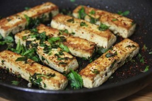mint tofu done
