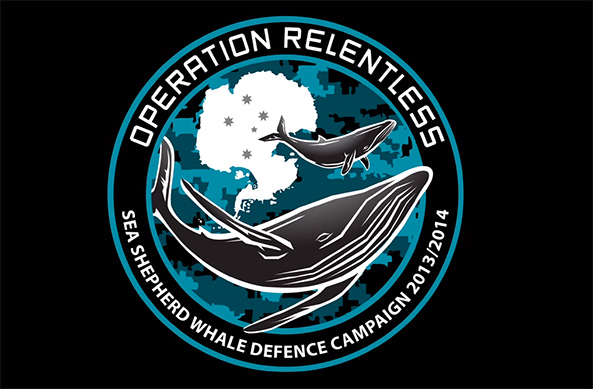 Sea Shepherd announce Operation Relentless Logo