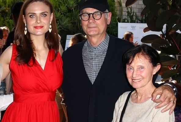 emily deschanel and her parents