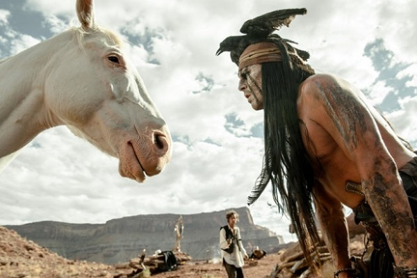PETA says horses were at risk during filming of 'The Lone Ranger.'