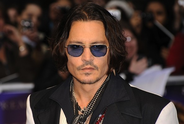 johnny depp vegan