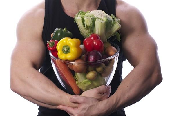 vegetarian man