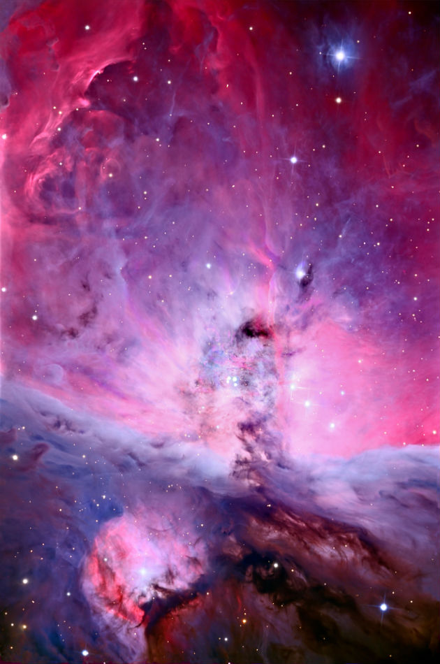 orion nebula sharpest sky photo