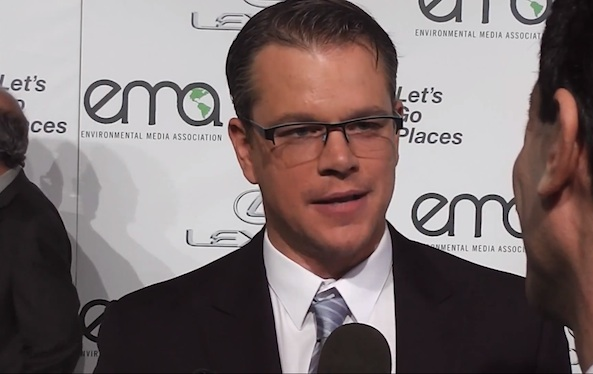 matt damon vegan