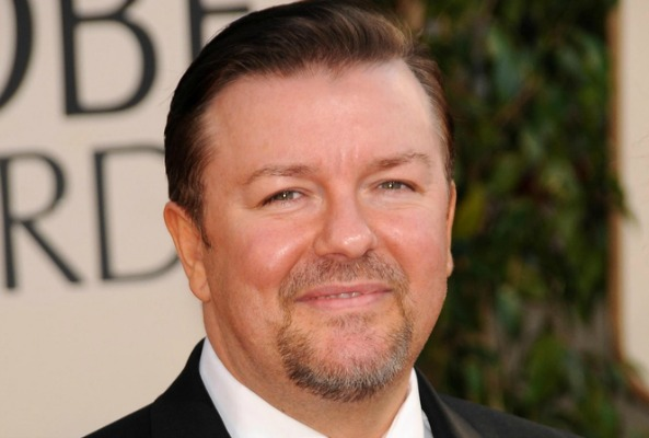 Ricky Gervais Protests Against Shark Cull