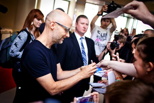 Moby discusses motive behind being vegan during Reddit AMA.