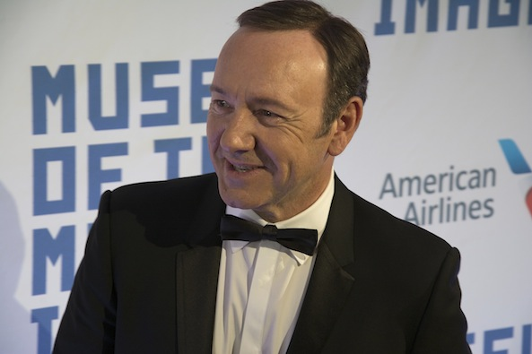 Kevin Spacey assures Ecorazzi he's a 'HUGE' advocate of the shop-don't-adopt adage when it comes to companion animals.