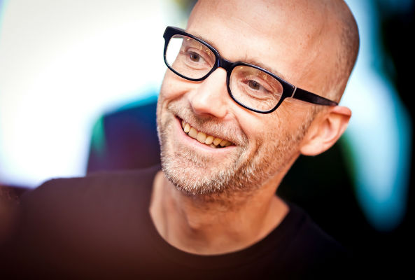 Moby chats with the L.A. Times on his much-anticipated vegan restaurant, Little Pine, which will open its doors in Silver Lake, California on Nov. 19.
