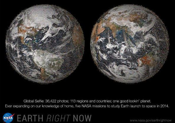 NASAglobalselfie
