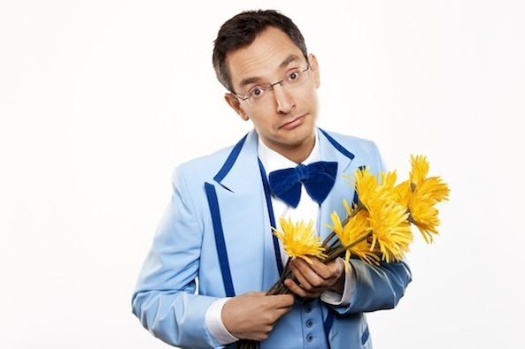 Vegan comedian Myq Kaplan releases latest standup via Netflix and iTunes, talks with Ecorazzi about punning, heckling and eschewing cruelty.