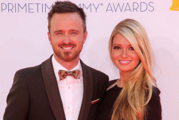 Aaron Paul's Emmys speech crashes wife's charity website
