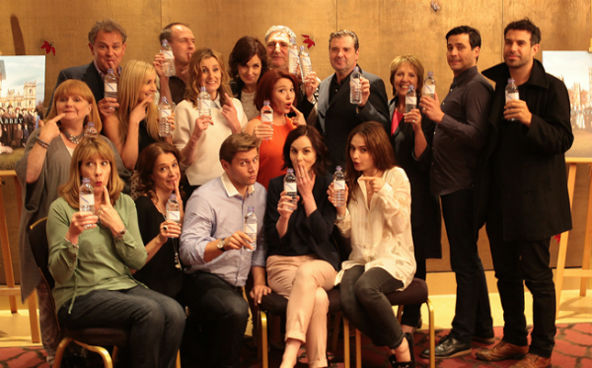 Downton Abbey raises awareness for WaterAid