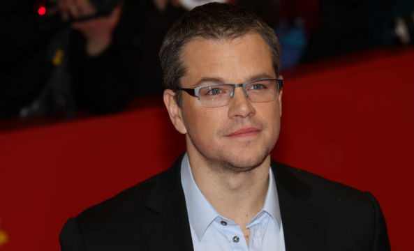 Matt Damon uses toilet water for ALS Ice Bucket Challenge
